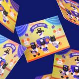 Usage example - Second Mansion Enfants Holographic Postcard