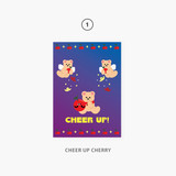 01 cheer up cherry - Second Mansion Jucy and Paul Holographic Postcard