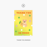 06 thank you mango - Second Mansion Jucy and Paul Holographic Postcard