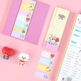 BT21 Baby Sticky Index Bookmark Set