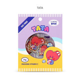 TATA - BT21 Jelly Candy Baby Clear Sticker Flake Pack