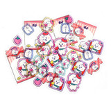 RJ - BT21 Jelly Candy Baby Clear Sticker Flake Pack