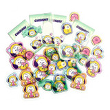 CHIMMY - BT21 Jelly Candy Baby Clear Sticker Flake Pack