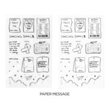 Paper Message - After The Rain Object Drawing Sticker Set
