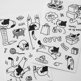 After The Rain Daily Drawing Paper Sticker Set