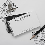 Stay Steady 6 Months Dateless Weekly Study Planner