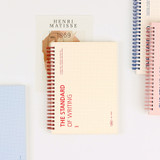 Wanna This Standard Writing A5 Wire Bound Grid Notebook