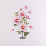 Appree Rose of Sharon Pressed Flower Sticker