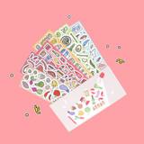 Jam studio Jam Shop Fresh Paper Sticker Pack 07-12