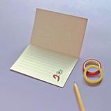 Lined inside - Jam studio Handwriting Congratulation Card and Envelope