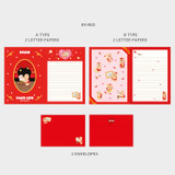 09 Red - Second Mansion Jucy and Paul Letter and Envelope Set 09-16