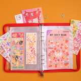 Second Mansion A5 6 Holes Sticker Storage Book with Refills