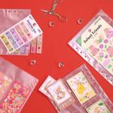 Second Mansion A5 6 Holes Sticker Storage Sheet Refills