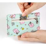 Zipper pocket - BT21 Little Buddy Baby Wallet with Neck Strap