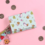 Usage example - BT21 Little Buddy Baby Wallet with Neck Strap