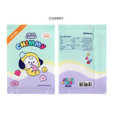 CHIMMY - BT21 Jelly Candy Baby Snack Package Large Zipper Pouch