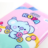 Water resistant  - BT21 Jelly Candy Baby Snack Package Large Zipper Pouch