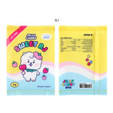 RJ - BT21 Jelly Candy Baby Snack Package Large Zipper Pouch