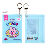 COOKY - BT21 Jelly Candy Baby Snack Package Small Zipper Pouch