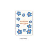 Blooming - Ardium 2022 dated monthly planner scheduler