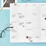 Monthly plan - Ardium 2022 Big dated monthly planner scheduler