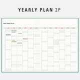 Yearly plan - Antenna Shop 2022 Table talk B6 dated monthly diary planner