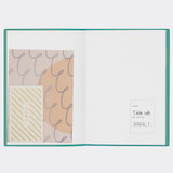 pocket - Antenna Shop 2022 Table talk B6 dated monthly diary planner