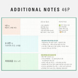 Additional note - Antenna Shop 2022 Table talk B6 dated monthly diary planner