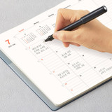 Monthly plan - Antenna Shop 2022 Table talk B6 dated monthly diary planner