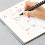 Monthly plan- Antenna Shop 2022 Table Talk A5 Dated Monthly Diary Planner