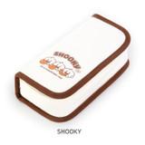 SHOOKY - BT21 Jelly Candy Baby Cotton Zipper Pencil Case Pouch