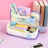 Usage example - BT21 Jelly Candy Baby Cotton Zipper Pencil Case Pouch