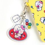 Usage example - BT21 Jelly Candy Baby Acrylic Keyring