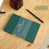 Green - Indigo 2022 Official soft dated weekly diary planner