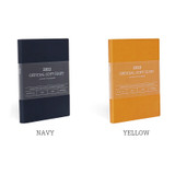 Color - Indigo 2022 Official Soft Dated Monthly Diary Planner