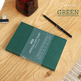 Green - Indigo 2022 Official Soft Dated Monthly Diary Planner