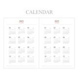 Calendar - Indigo 2022 Official Big Dated Monthly Planner Scheduler