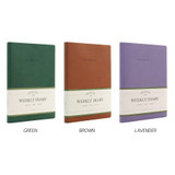 Color - Indigo 2022 Official A5 Dated Weekly Diary Planner