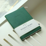 Green - Indigo 2022 Official A5 Dated Weekly Diary Planner