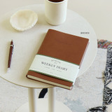 Brown - Indigo 2022 Official A5 Dated Weekly Diary Planner