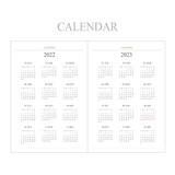 Calendar - Indigo 2022 Official A5 Dated Weekly Diary Planner