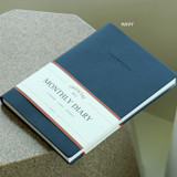 Navy - Indigo 2022 Official A5 Dated Monthly Diary Planner