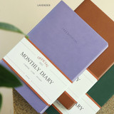 Lavender - Indigo 2022 Official A5 Dated Monthly Diary Planner