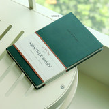 Green - Indigo 2022 Official A5 Dated Monthly Diary Planner