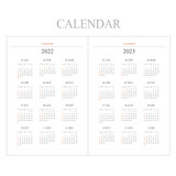 Calendar - Indigo 2022 Official A5 Dated Monthly Diary Planner