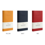 Color - Indigo 2022 Official Slim Dated Monthly Diary Planner