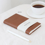 Brown - Indigo 2022 Official Slim Dated Monthly Diary Planner