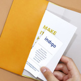 Pocket - Indigo 2022 Official Slim Dated Monthly Diary Planner