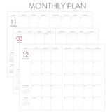 Monthly plan - Indigo 2022 Prism A5 Dated Weekly Diary Planner