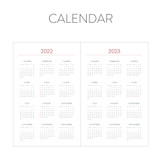 Calendar - Indigo 2022 Prism A5 Dated Weekly Diary Planner